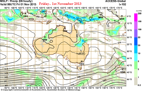 1stNov rain low for inland qld