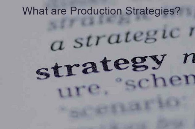what are production strategies meaning