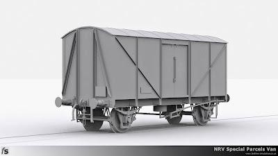 NRV Special Parcels Van