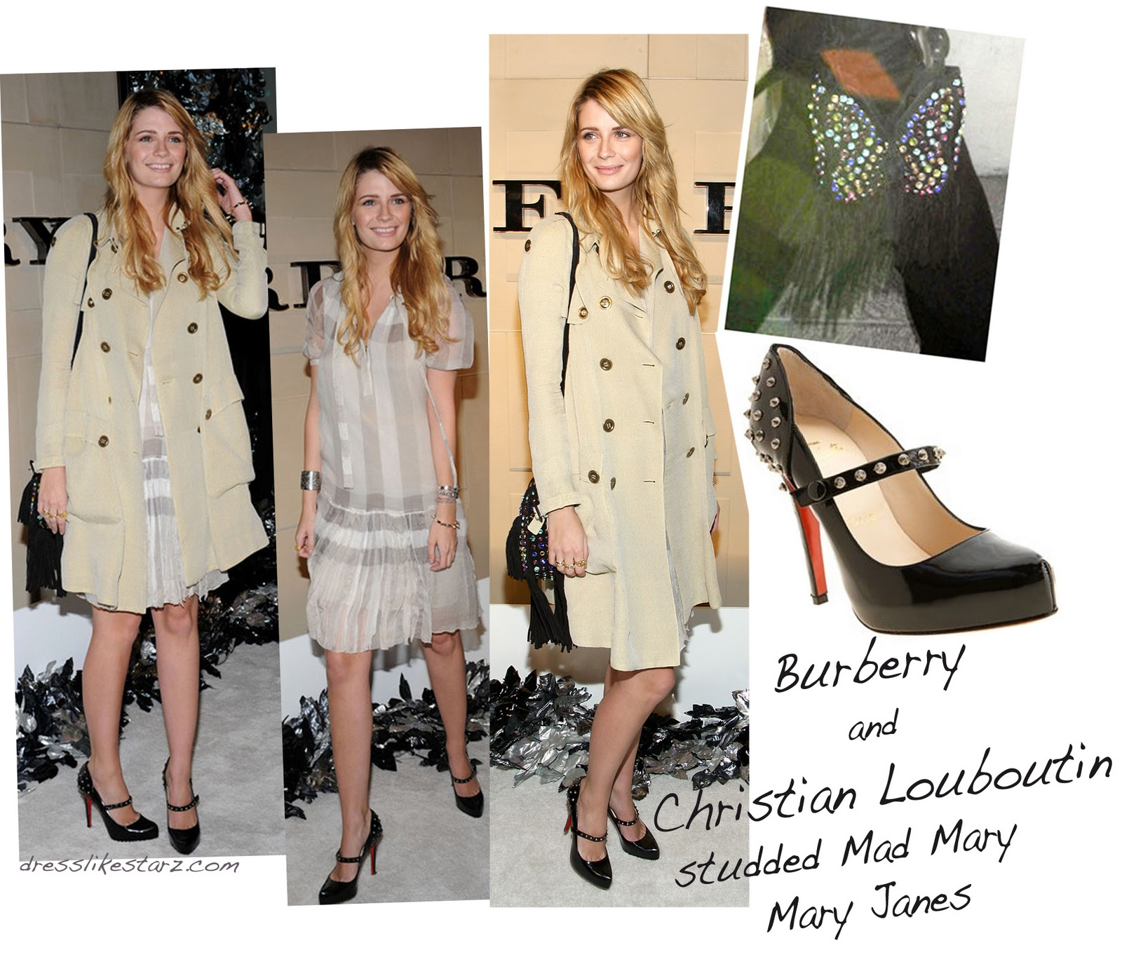 burberry coat sale outlet fdjs  Butter Burberry Trench Coats On Button And Buckle For Two Women's Styles