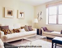 11 chiêu cho phòng khách nhỏ hút hồn - Thi công nội thất