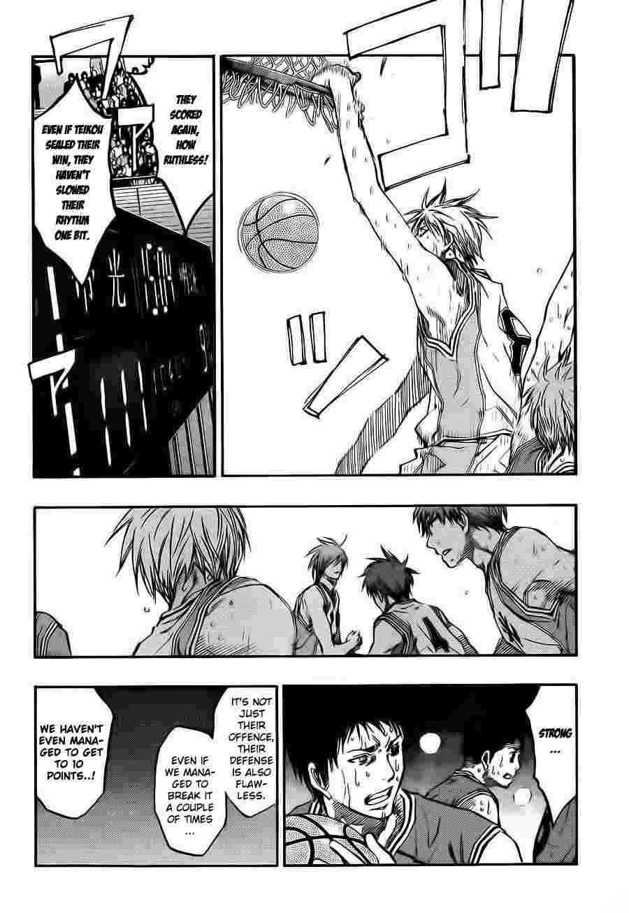 Kuroko no Basket Manga Chapter 226 - Image 12