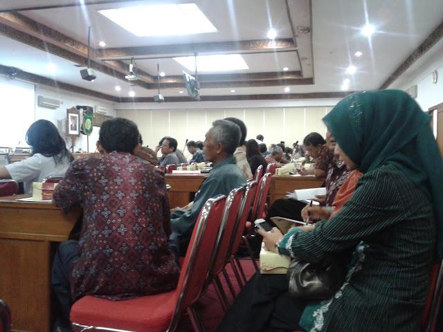 Peserta Sosialisasi Komunitas ASEAN 2015