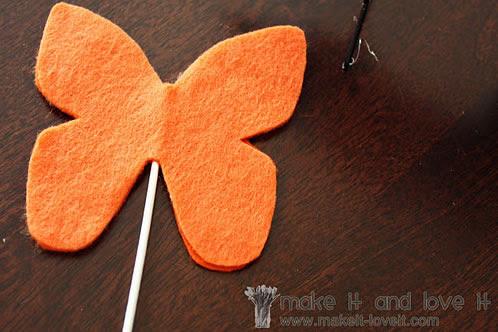 Fixe a borboleta