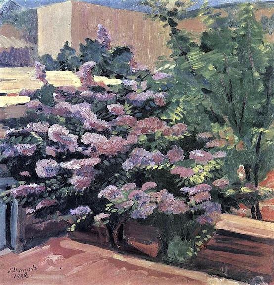 Martiros Saryan - Lilac, 1922
