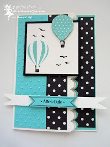 stampin up, up up and away, bitty banners, famose fähnchen, incolors