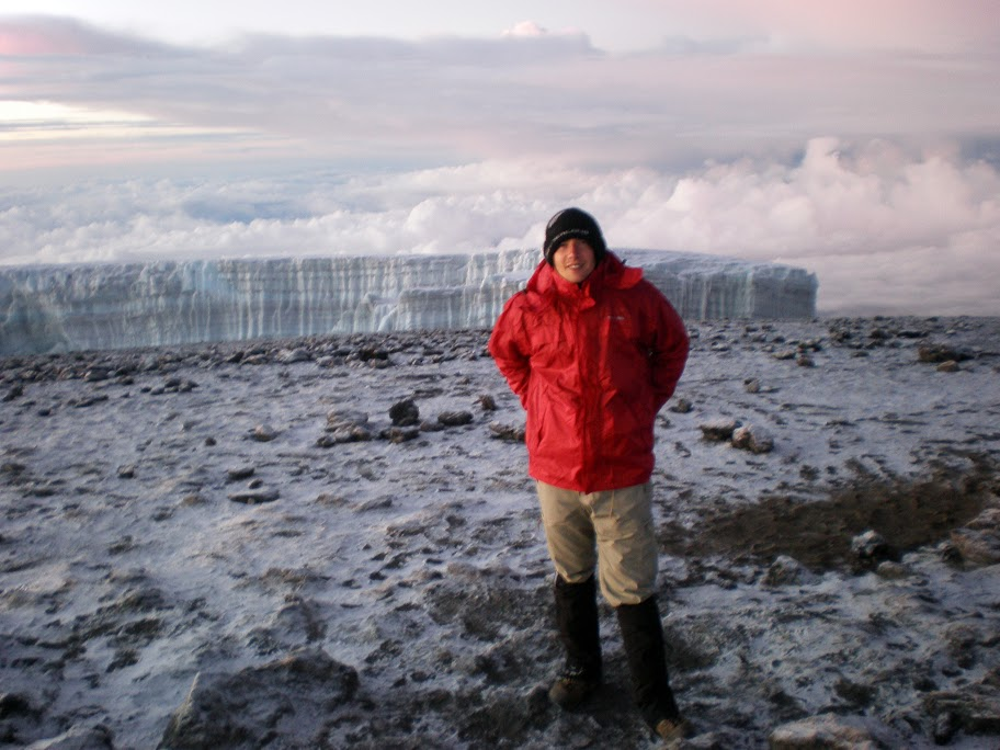 Kilimanjaro - Day 6 - Summit Day! - Glaciers