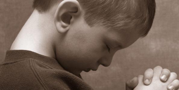 Bērnišķi ticēt un bērnišķi lūgt