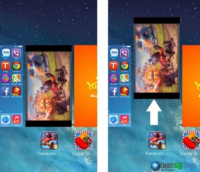 hình 3 - sử lỗi iPhone 6 không chơi được game