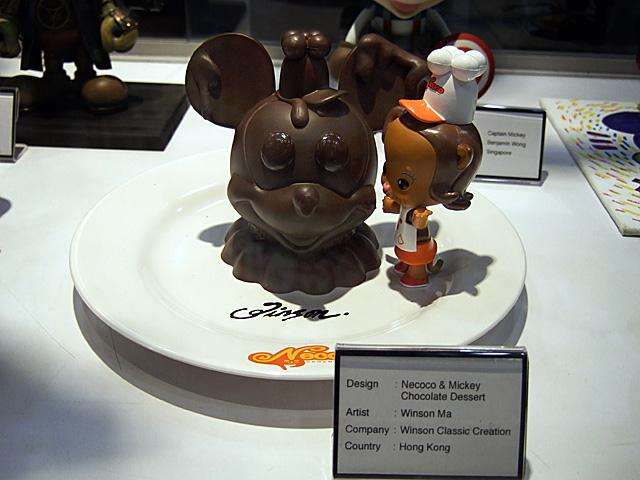 Necoco & Mickey Chocolate Dessert
