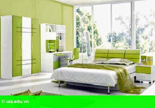 Hình 1: Những đồ vật 'cấm' bày trong phòng ngủ