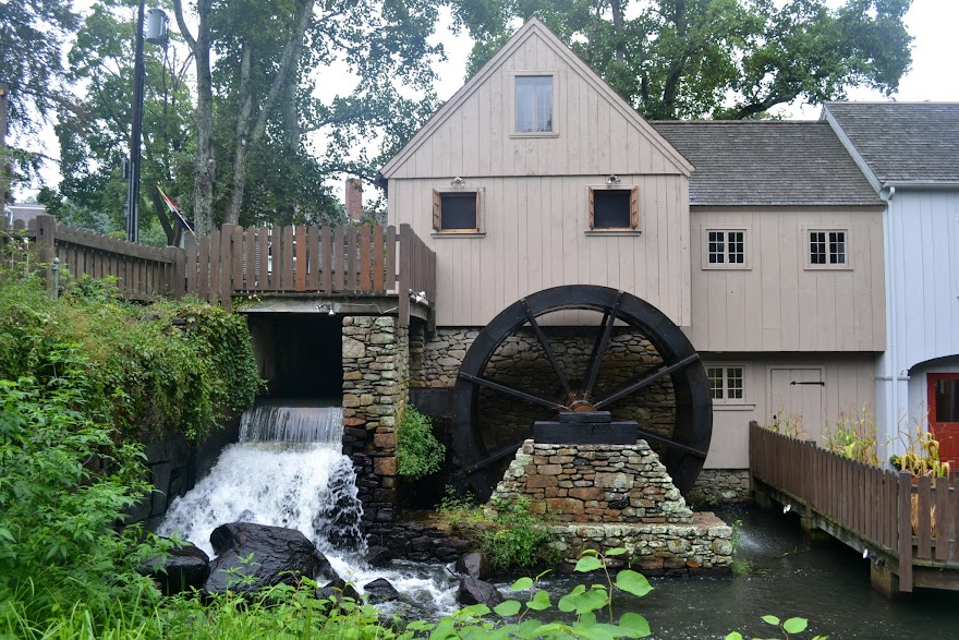 Мельница в Плимуте, Массачусетс (The Plimoth Grist Mill, Plymouth, MA)