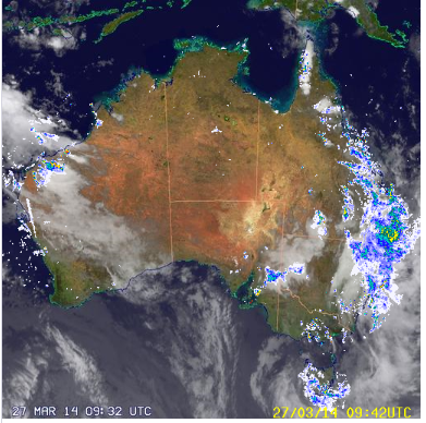 27th march 2014 sat pic' Australia