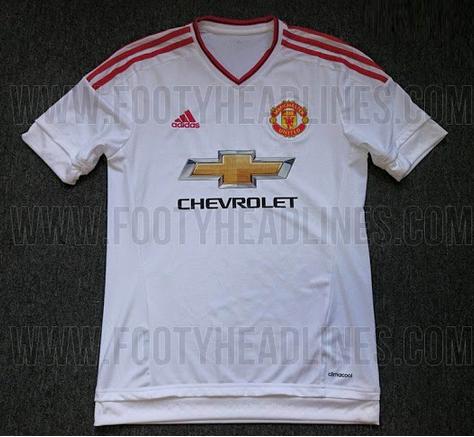 ao bong da - áo bóng đá đội Manchester United 2015 - 2016