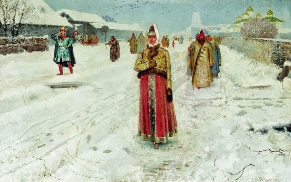 Andrei Ryabushkin - Sunday.1889