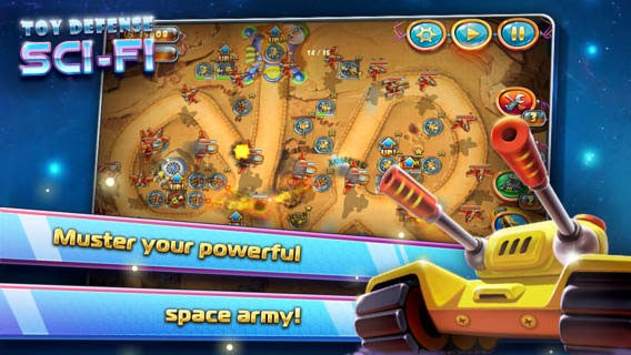 Toy Defense 4: Sci-Fi v1.2 for iPhone/iPad