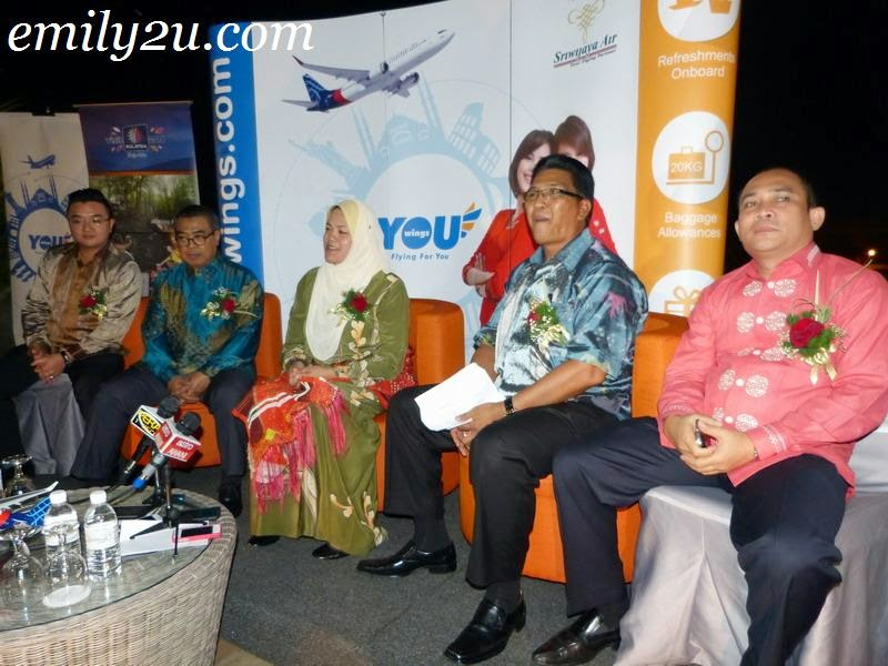 YOU Wings Ipoh Medan direct flight