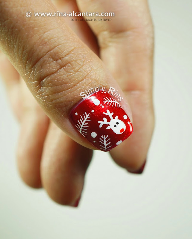 Nail Art: Christmas Wrapper