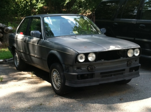 Journey to SpecE30: Installing a Volvo lip on an E30