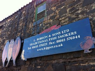 Robson's Kippers, Craster Guide, Northumberland