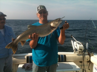 Five orr 39 s lake michigan sport fishing charters current for Michigan fish limits