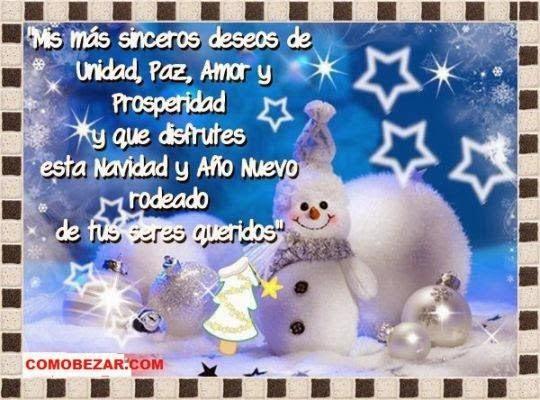 Hermosas y originales felicitaciones para desear una feliz navidad