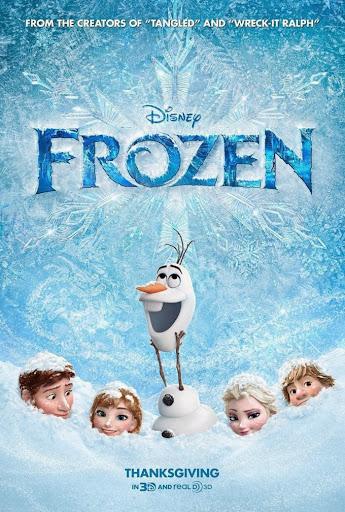 Ψυχρά κι Ανάποδα Frozen Poster