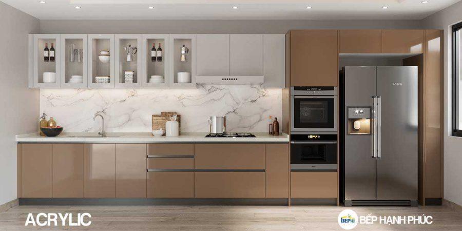 5 Mẫu Kệ Bếp, Tủ Bếp Bằng Nhựa PVC Đẹp 5