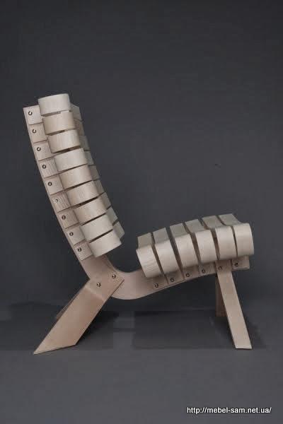 Общий вид фанерного кресла
