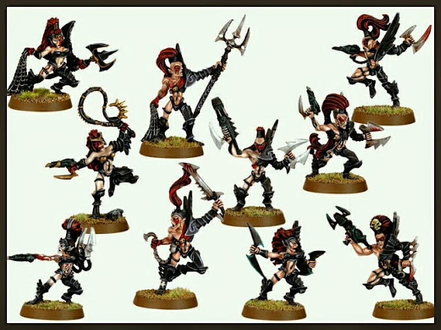 Elfas Brujas eldars Oscuros Games Workshop