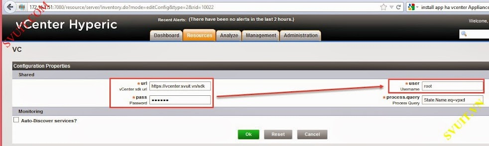 Configure vSphere vCenter Hyperic (9)