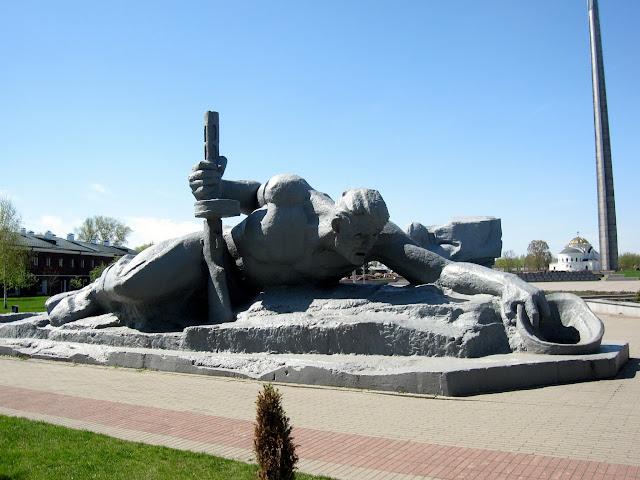 Скульптурная композиция Жажда
