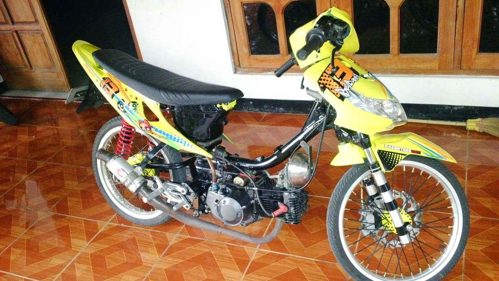 Revo Fit Modifikasi Drag Honda Revo Modifikasi Drag
