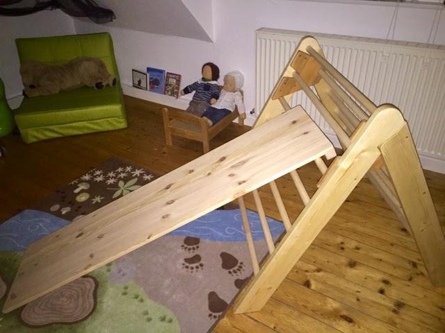 Kletterdreieck Gross : Unser kletterdreieck elfe maria