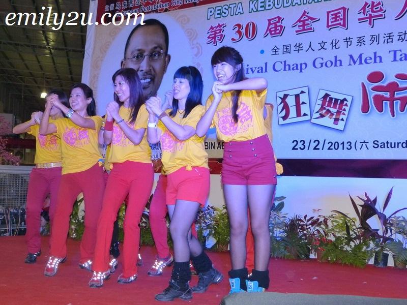 Festival Walk Chap Goh Mei celebration
