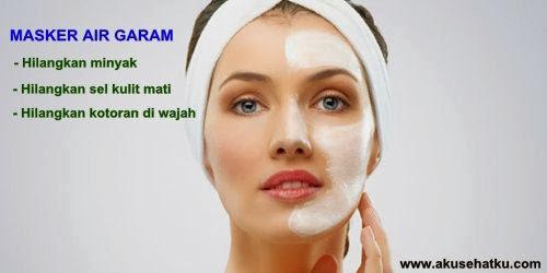 menghilangkan kulit berminyak secara alami Cara Alami Menghilangkan Kulit Berminyak Dengan Air Garam