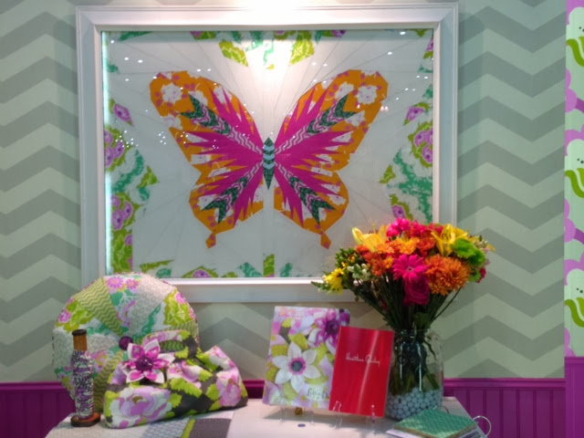 heather bailey's paper pieced butterfly