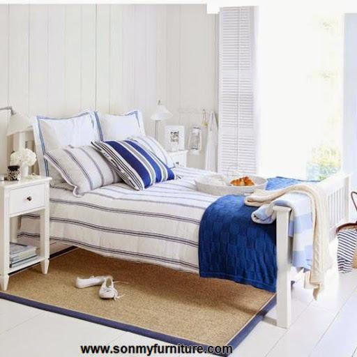 Những mẫu phòng ngủ thoáng mát cho mùa hè_nội thất phòng ngủ-1