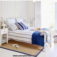 Những mẫu phòng ngủ thoáng mát cho mùa hè_nội thất phòng ngủ