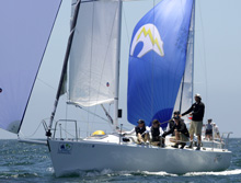 J/120 sailing Long Beach race week