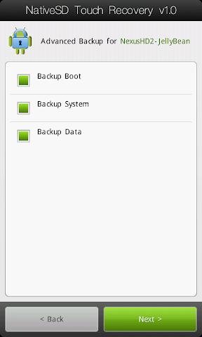 [TUTO] Utiliser le NativeSd Touch recovery 1.0 (en images) NativeSD_Touch_Recovery_1-2_Advanced_Backup