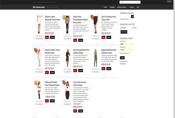 Shopping Joomla Template Theme Free Download