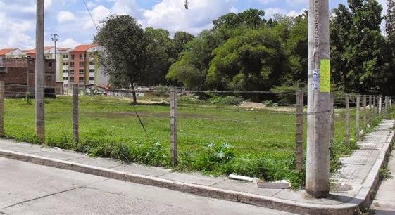Lote en Piedecuesta Santander cerca al Parque Principal