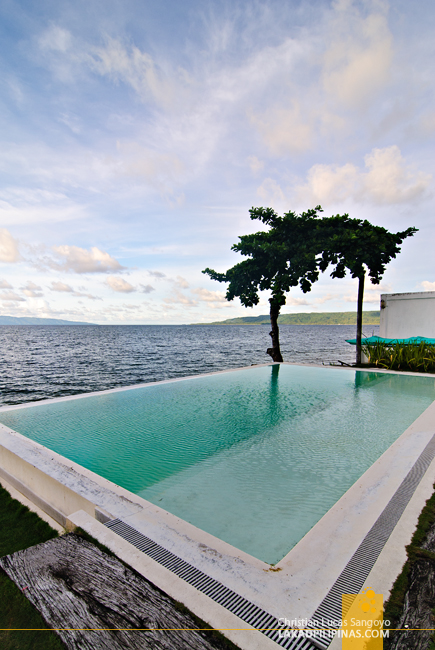 The Infinity Pool at Sorsogon's Sirangan Beach Resort