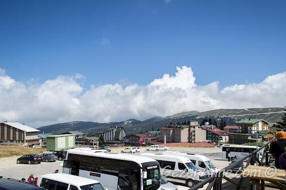 Bursa, Uludağ'daki oteller bölgesi
