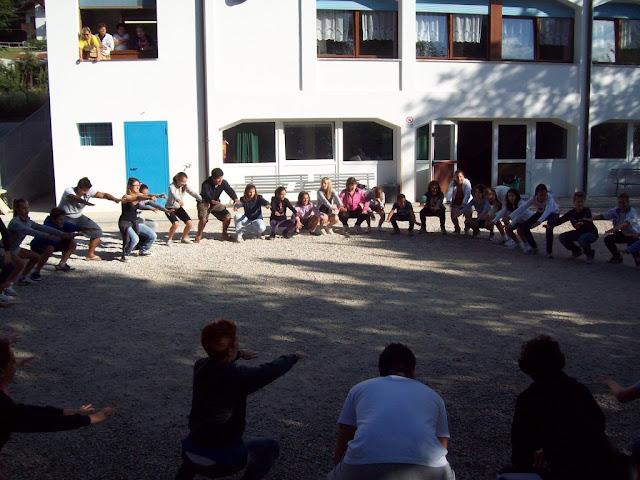 Campo scuola 2^ e 3^ media 2011 a Valle di Cadore