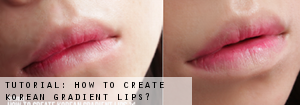 korean gradient lips tutorial
