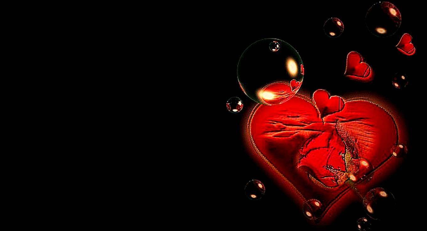 Love Hd Wallpaper Widescreen 3d : Wallpaper 3D Abstract Love Hd Desktop Wallpaper ...