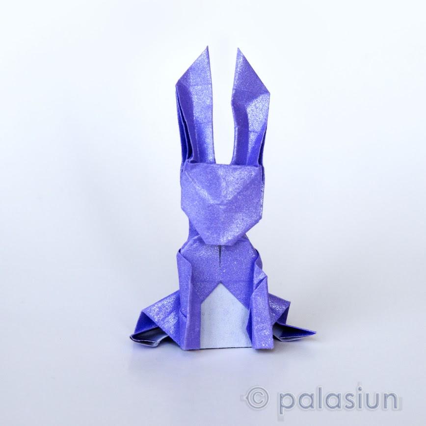 Origami Money Bunny