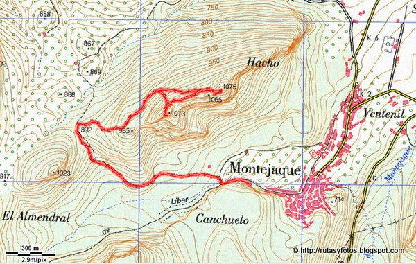 Subida al Hacho de Montejaque